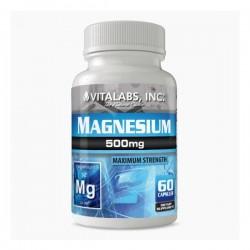 Magnesium - 60 gélules de 500mg