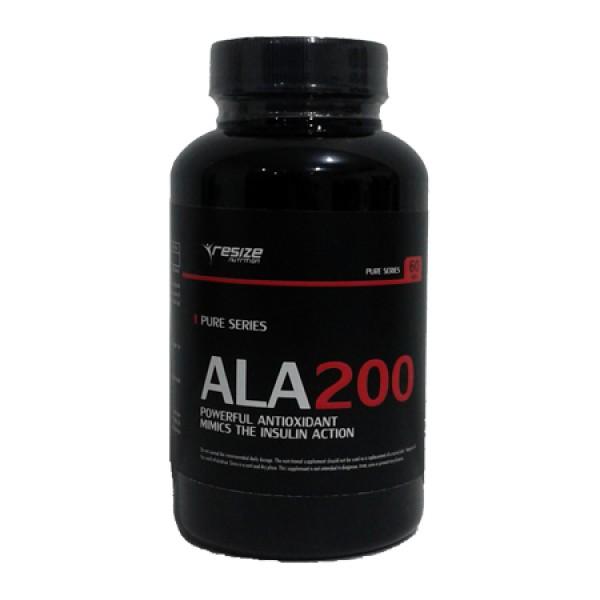ALA 60 Cápsulas Resize Nutrition